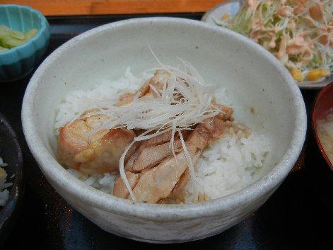 は~ふ朝鶏和風丼