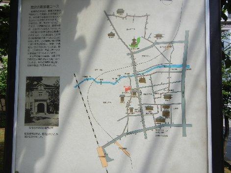 歴史の散歩道・地図