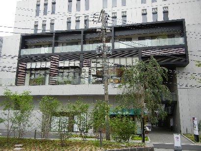 ポルタ東京理科大学・裏側