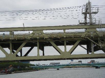 東武伊勢崎線・鉄道橋
