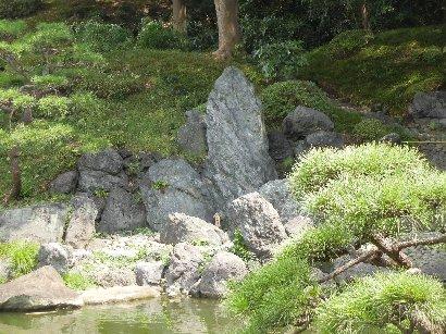 枯滝の三石