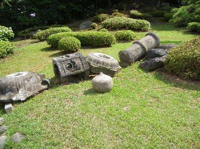 岡崎御影石春日灯籠/富士山裾