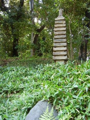 奈良御影石十一重層塔