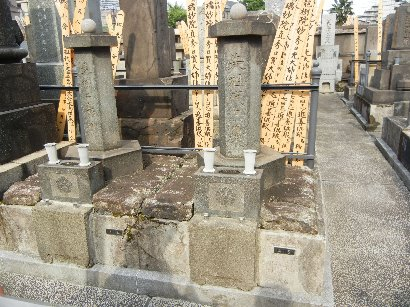 玉泉院墓地・橋本雅邦墓