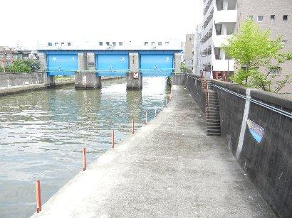 小名木川・水門