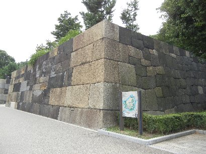 修復後の中之門