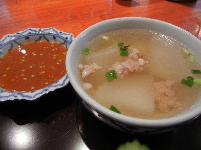 大根スープ&秘伝のタレ