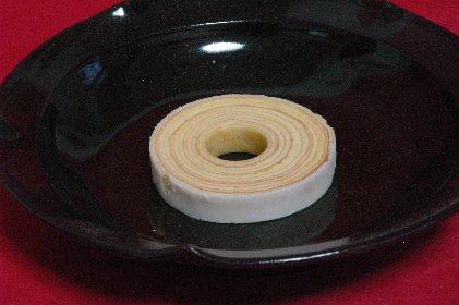 クーヘンon皿