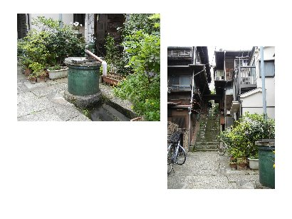一葉・菊坂旧居跡と菊坂界隈