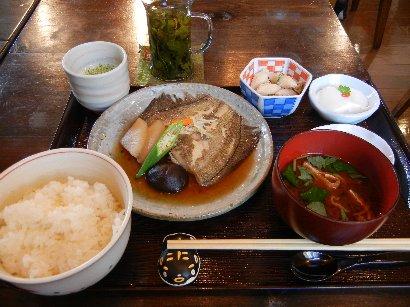金魚坂御膳・煮魚