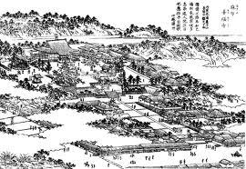 麻布山善福寺 図絵