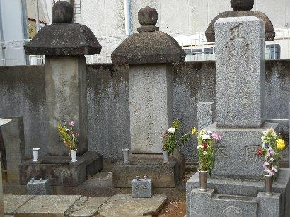 岡本玄冶墓