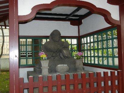 寛永寺境内 了翁禅師塔碑