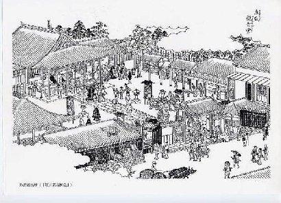 魚籃観音堂(図会)