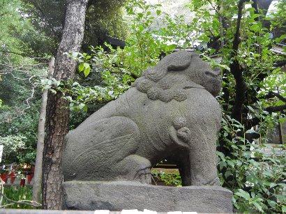 三田八幡・狛犬