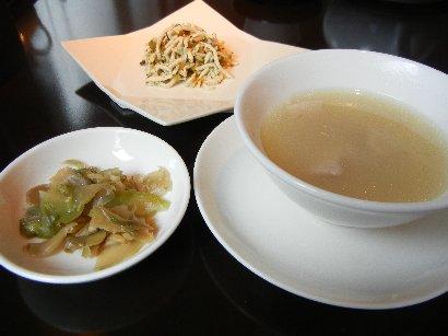 スープ・和えもの