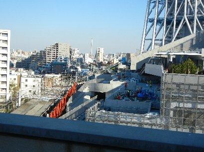 東京スカイツリー駅工事