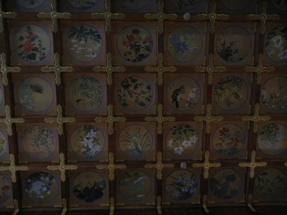 拝殿の天井絵