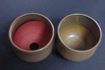 植木鉢vs茶碗見込み