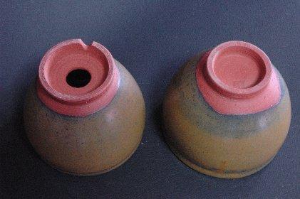 植木鉢vs茶碗・裏