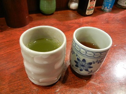 食前・後に出る茶