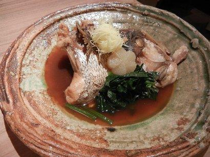煮魚(鯛の荒煮)