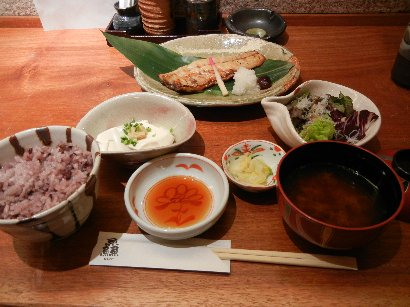 魚御膳(焼魚)