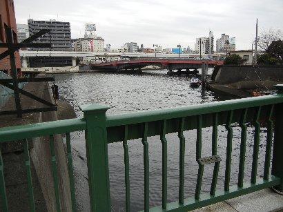 柳橋から両国橋を