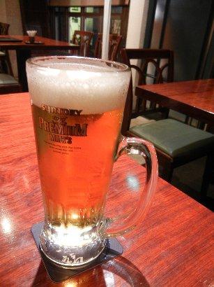 014乾杯のビール