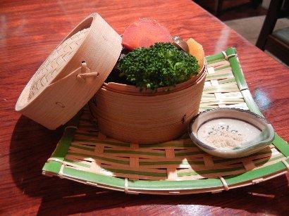 セイロ蒸し野菜