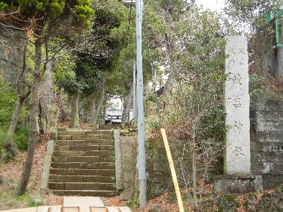 茂呂神社・表側参道