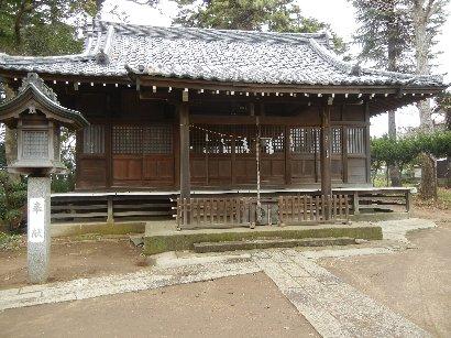 茂呂神社・拝殿