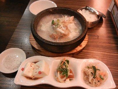 ハーフ参鶏湯SET