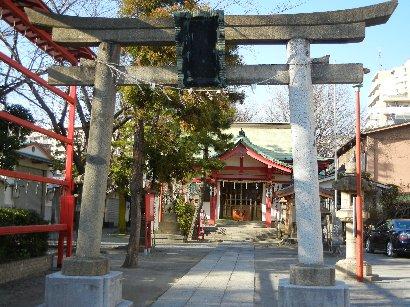 砂村富岡元八幡宮