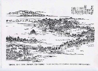 葛飾明神社 図会