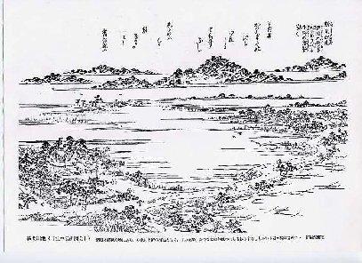 勝間田の池 図会