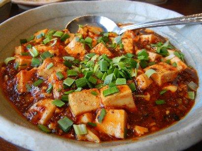 麻婆豆腐・アップ