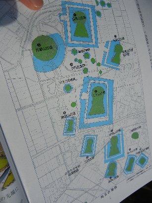 埼玉古墳群配置図
