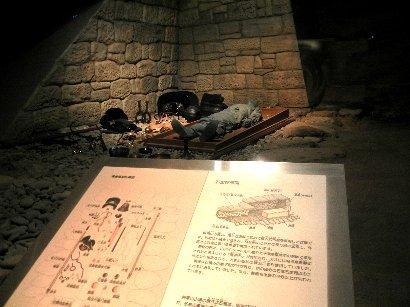 将軍山古墳内・展示室