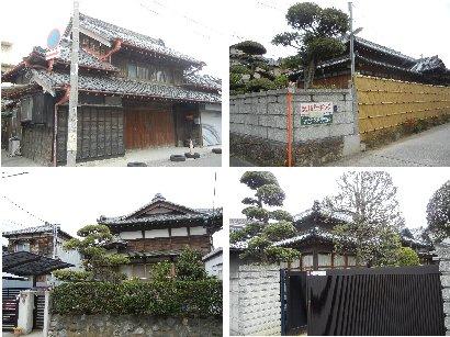 成田街道沿いの家
