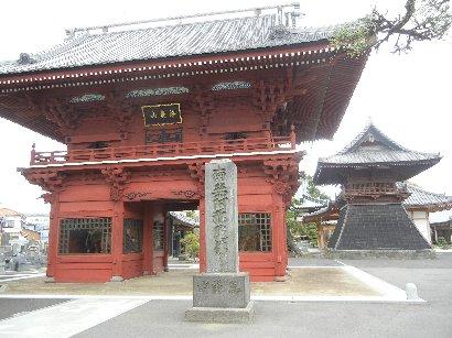徳願寺・神門と鐘楼
