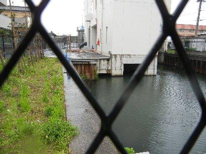 祭礼河岸跡(押切排水機場)