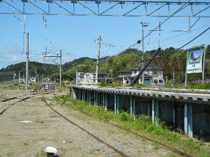 仙石線・野蒜駅