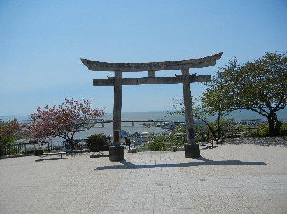 石巻市・日和山の鹿島神社