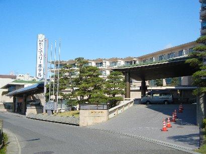 松島センチュリーホテル・玄関側から