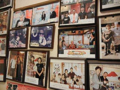 賑やかな壁の写真