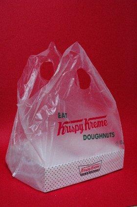 Krispy Kreme・ドーナツ・袋