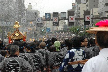 2008.08.17神輿連合渡御at永代橋