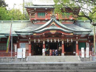 富岡八幡宮・本殿