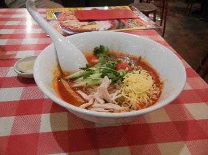 冷しトムヤム麺